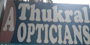 A THUKRAL OPTICIANS